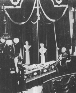 This is the only proven picture of Lincoln in death.